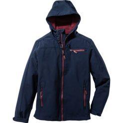 Kurtka softshell Regular Fit bonprix ciemnoniebieski. Niebieskie kurtki sportowe męskie bonprix, m, z softshellu. Za 169,99 zł.