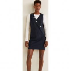 Mango - Sukienka Diploma. Szare sukienki mini marki Mango, na co dzień, l, z tkaniny, casualowe, z dekoltem halter, na ramiączkach, rozkloszowane. Za 199,90 zł.