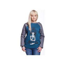 Bluzy damskie: DEVI by COXIE bluza damska sea