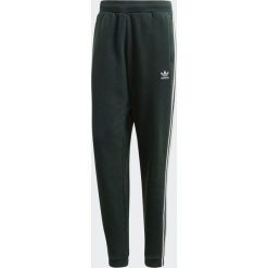 Spodnie męskie: Adidas Spodnie dresowe męskie 3-Stripes zielone r. M (CX1898)