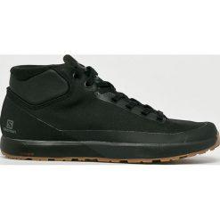 Salomon - Buty Acro Chukka. Czarne buty trekkingowe męskie marki Salomon, z gore-texu, na sznurówki, outdoorowe, gore-tex. Za 599,90 zł.