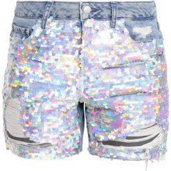 Bermudy damskie: Topshop ARIEL Szorty jeansowe middenim