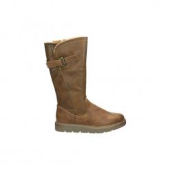 Kozaki Refresh  64656. Brązowe buty zimowe damskie Refresh. Za 263,62 zł.