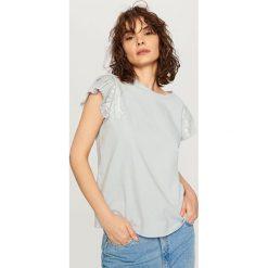 T-shirt z krótkimi rękawami - Niebieski - 2