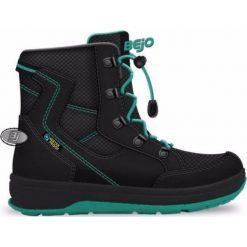 Buty trekkingowe damskie: BEJO Buty dziecięce Lappi Dark Grey/Turquoise r. 37