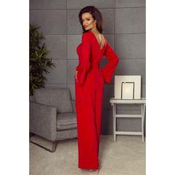SILA kombinezon z odkrytymi plecami czerwony. Czerwone kombinezony damskie Bergamo, z elastanu. Za 193,00 zł.