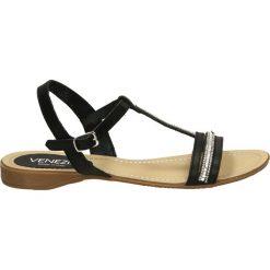 Sandały damskie: Sandały - 2297 PEL NERO