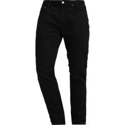 Banana Republic SLIM TRAVELER PANT Spodnie materiałowe black. Niebieskie rurki męskie marki Banana Republic. Za 359,00 zł.