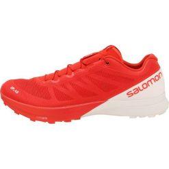 Salomon LAB SENSE 7 Obuwie do biegania Szlak racing red. Czerwone buty do biegania damskie Salomon, z materiału. Za 779,00 zł.