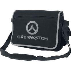 Overwatch Logo Torba na ramię czarny. Czarne torby na ramię męskie Overwatch, z nadrukiem, na ramię. Za 199,90 zł.