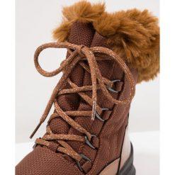 Ilse Jacobsen BAZE Botki sznurowane kupfer rost. Brązowe buty zimowe damskie marki Alma en Pena, z materiału, na obcasie. W wyprzedaży za 429,50 zł.