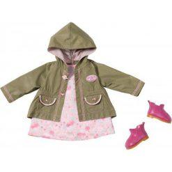 Kurtki dziewczęce przeciwdeszczowe: Baby Annabell Zestaw Ubrań Na Spacer Dla Lalki