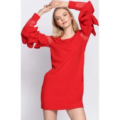 Czerwona Sukienka Almond. Czerwone sukienki hiszpanki Born2be, uniwersalny, mini. Za 69,99 zł.