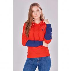 Bluza w kolorze czerwono-niebieskim. Czerwone bluzy damskie Jimmy Sanders, l. W wyprzedaży za 129,95 zł.