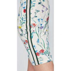 Answear - Spódnica Garden of Dreams. Szare minispódniczki ANSWEAR, l, z bawełny, dopasowane. W wyprzedaży za 49,90 zł.