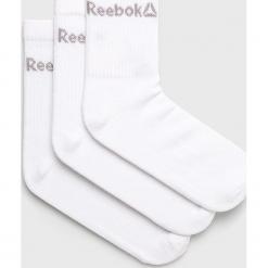 Reebok - Skarpety (3-pack). Szare skarpetki męskie Reebok, z bawełny. Za 29,90 zł.