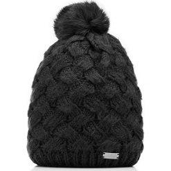 85-HF-003-1 Czapka damska. Czarne czapki damskie Wittchen, na zimę, z dzianiny. Za 59,00 zł.