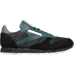 """Buty Reebok Classic Leather SM """"Washed Jade"""" (BS5229). Czarne buty skate męskie Reebok, z materiału, reebok classic. Za 189,99 zł."""