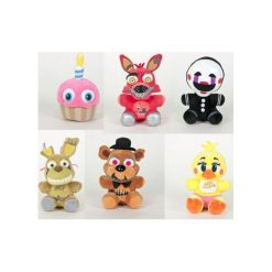 Przytulanki i maskotki: Maskotka Five Nights at Freddy's 15 cm – losowy model