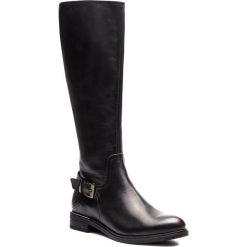Oficerki LASOCKI - SORENA-06 Czarny. Czarne buty zimowe damskie Lasocki, z materiału, na obcasie. Za 349,99 zł.