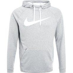 Nike Performance DRY SWOOSH HOODIE Bluza z kapturem dark grey heather/white. Szare bejsbolówki męskie Nike Performance, m, z materiału, z kapturem. Za 379,00 zł.