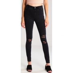 Missguided Tall SINNER HIGHWAISTED AUTHENTIC Jeans Skinny Fit black. Czarne jeansy damskie Missguided Tall. Za 169,00 zł.