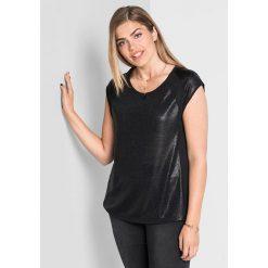 Bluzki, topy, tuniki: Koszulka w kolorze czarnym