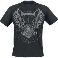 Kissin' Dynamite I've got the fire T-Shirt czarny. Czarne t-shirty męskie z nadrukiem Kissin´ Dynamite, xxl, z okrągłym kołnierzem. Za 74,90 zł.