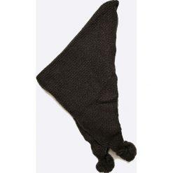 Trussardi Jeans - Szalik. Czarne szaliki damskie Trussardi Jeans, z dzianiny. W wyprzedaży za 169,90 zł.