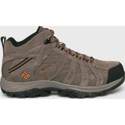 Columbia - Buty Canyon Point. Szare buty trekkingowe męskie Columbia, z materiału, na sznurówki, outdoorowe. Za 499,90 zł.