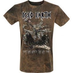 T-shirty męskie: Iced Earth Something Wicked T-Shirt brązowy