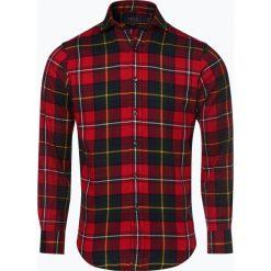 Polo Ralph Lauren - Koszula męska – Slim Fit, czerwony. Czerwone koszule męskie slim marki Polo Ralph Lauren, l, z włoskim kołnierzykiem. Za 629,95 zł.