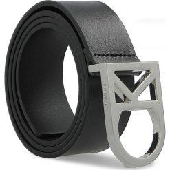 Paski damskie: Pasek Damski CALVIN KLEIN BLACK LABEL – Ck Logo Belt 3.5 K60K602141 80 001