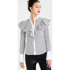 Koszule wiązane damskie: Karen Millen RUFFLE  Koszula white
