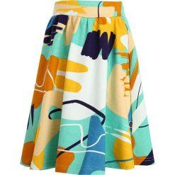 Mainio PERFORMANCE CHILDREN`S SKIRT Spódnica trapezowa blue. Niebieskie spódniczki dziewczęce Mainio, z bawełny. W wyprzedaży za 127,20 zł.