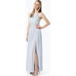Marie Lund - Damska sukienka wieczorowa, niebieski. Niebieskie sukienki koktajlowe Marie Lund, z szyfonu. Za 649,95 zł.