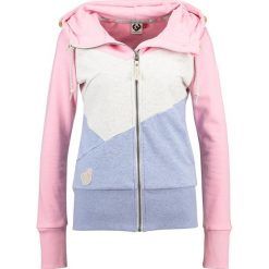 Odzież damska: Ragwear VIOLA BLOCK ZIP Bluza rozpinana pink