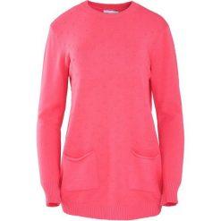 Koralowy Sweter Regularity. Pomarańczowe swetry klasyczne damskie Born2be, na jesień, xl. Za 59,99 zł.