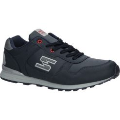 Granatowe buty sportowe sznurowane Casu MXC7251. Szare halówki męskie Casu, na sznurówki. Za 78,99 zł.