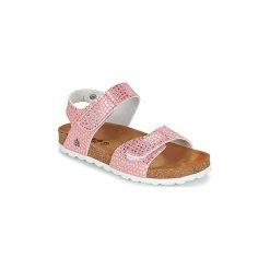 Sandały Dziecko  Citrouille et Compagnie  BELLI JOE. Czerwone sandały dziewczęce marki Born2be, z materiału, z otwartym noskiem, na zamek. Za 109,00 zł.
