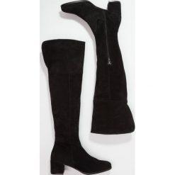 Élysèss Muszkieterki nero. Czarne buty zimowe damskie Élysèss, z materiału. W wyprzedaży za 349,50 zł.
