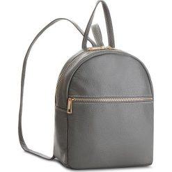 Plecak CREOLE - K10551  Szary. Czarne plecaki damskie marki Creole, ze skóry. W wyprzedaży za 179,00 zł.