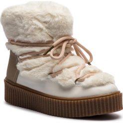 Śniegowce GIOSEPPO - 41138 Off White. Brązowe buty zimowe damskie Gioseppo, z materiału. Za 279,00 zł.