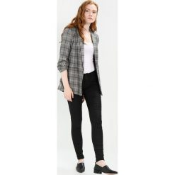 Boyfriendy damskie: Tiger of Sweden Jeans SLENDER Jeans Skinny Fit black denim