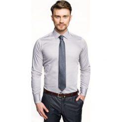 Koszula versone 2711e długi rękaw slim fit szary. Szare koszule męskie slim Recman, m, z długim rękawem. Za 149,00 zł.