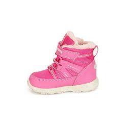 Śniegowce Dziecko Kangaroos  K-SNOW. Czerwone buty zimowe chłopięce KangaROOS. Za 219,00 zł.