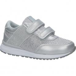Szare buty sportowe z cyrkoniami na rzepy American K17326. Szare buciki niemowlęce American, na rzepy. Za 69,99 zł.