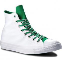 Trampki CONVERSE - Ctas Hi 160465C White/Green/Cherry Blossom. Szare trampki męskie marki Converse, z materiału. W wyprzedaży za 179,00 zł.