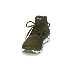 Buty do biegania Puma  IGNITE LIMITLESS WEAVE. Zielone buty do biegania męskie marki Puma. Za 363,30 zł.