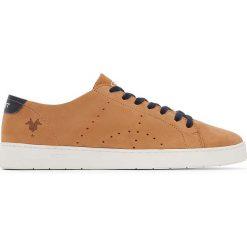 Trampki męskie: Skórzane buty sportowe Malin 19